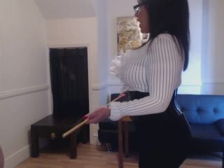 Mistress R'eal – A Cold Hard Caning From Headmistress