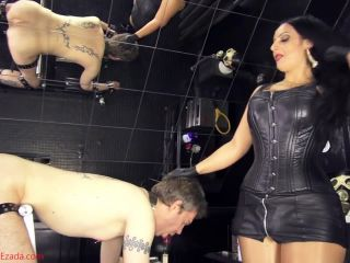 Sissy Training – Mistress Ezada Sinn – Sissy whore sucking training