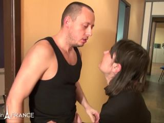 Kelia Block - Uptight brunette gets dirty at the office - NudeInFrance