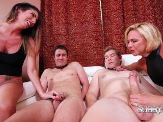 SubbyHubby – Dava and Brianna Bring Home Slaves Part 4: Cuckold Slave