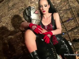 DirtyTransDolls – Fetish Liza – Latex doll fucking part 1