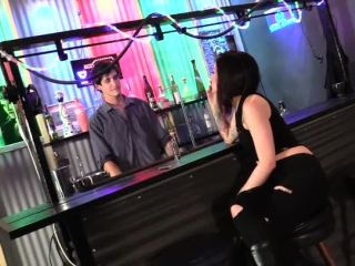 Humiliation – Cybill Troy FemDom Anti-Sex League – Spit-Guzzling Boot Licker – Bartender Forced Into Slavery PART 1