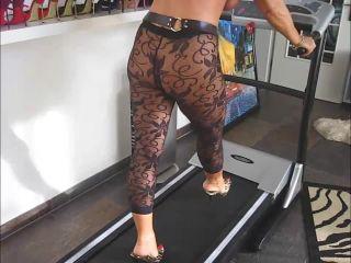barbara - 2008-10-18 In the Treadmill [foot fetish]