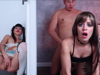 Natalieflowers I Masturbate My Pussy While My Sister Gets Fucked In Th ...