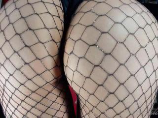 Porn online Violet Doll - Fishnet Ass Worship femdom