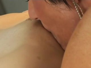 Lesbian sex with an older woman