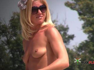 Crazy Couple At Nude Beach Under the Sun 2