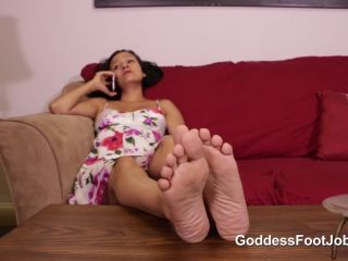 Footjob – Goddess Foot Jobs – Stepdaughter Can't Get Pregnant Starring Luna Jinx