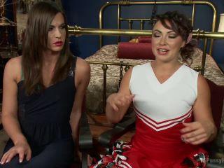 Kink.com- The Cheer Squad Girl _amp; The Vampire - Michelle Firestone devours Bianca-- Michelle Firestone, Bianca Dagger