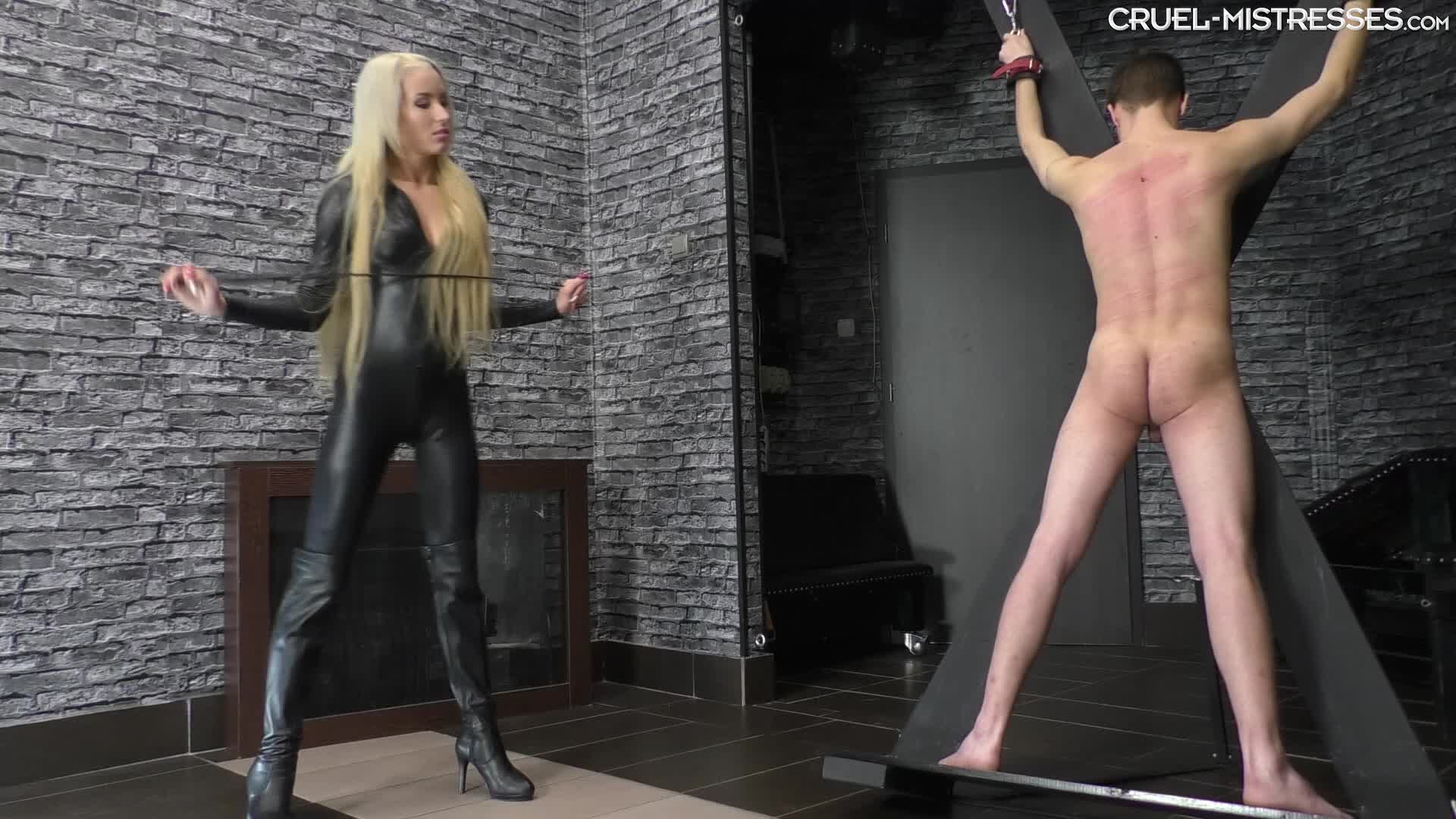 Mistress Fucking Slave Strapon