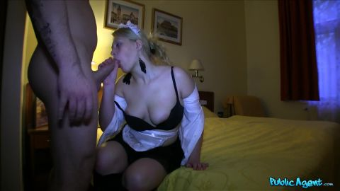 Fakehub.com- Hotel Maid Gets The Tip Of Stranger_s Cock In Her Pussy