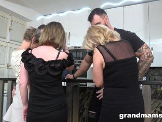 mature - Grandmams presents Granny Orgy