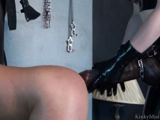 KinkyMistresses  Latex Lucy Take My XXL Strap-on  Complete Film