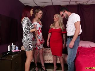 Pure CFNM – Geek Make Over Starring Amina Danger, Louise Lee and Melody Pleasure