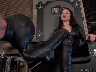 Fetish – KinkyMistresses – Ella Kros – Extreme Boot Worship – Complete Film