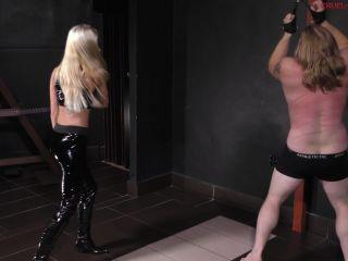 Cruel Mistresses – Mistress Tatjana – The Slave Hates The Strokes (1080 HD) – Whipping – Whipped, Femdom