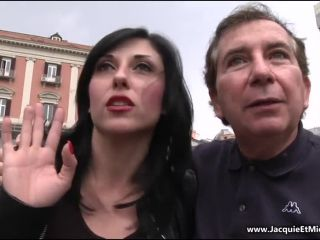 Porn tube Online Video Anais – (JacquieetMichelTV - Indecentes-Voisines) – Naples : spaghettis carbonara et double pénétration ! double penetration