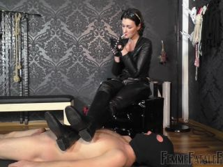 Femme Fatale Films – Used & Milked Dry – Complete Film –  Lady Victoria Valente – : Femme Fatale Films, Cp | human ashtray | femdom porn femdom stockings