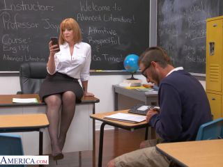My First Sex Teacher - Sara Jay gives student her big ass