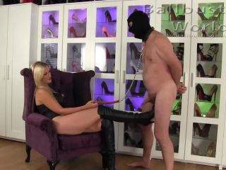 BallbustingWorld – Nikki Whiplash – I like kicking men in the balls –  Ballbusting – Mistress Whiplash, Female Domination