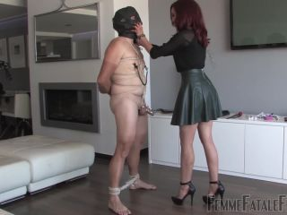 Femme Fatale Films – Mistress Ursula – Teased In Chastity – Complete Film