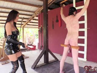 clubdom  jamie valentine  whipped by his goddess  spanking