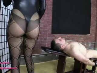 Porn online Chastity – Brat Princess 2 – Mia – Restrained Facesitting in Black Bodysuit and Fishnet St…