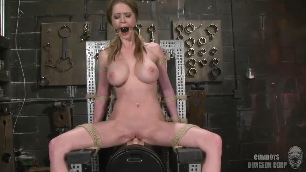 Sybian Bondage Multiple Orgasm