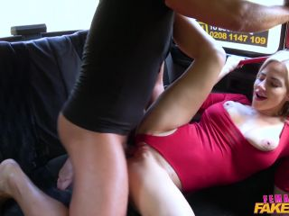 Female Fake Taxi - Nathaly Cherie Wet pussy licked for free taxi trip