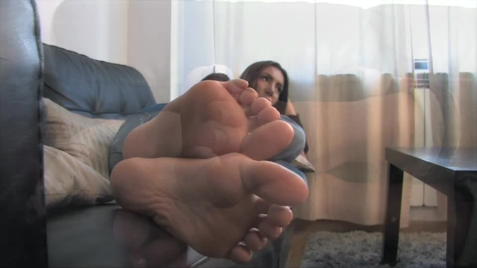 Ebony Pantyhose Feet Worship