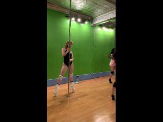 amygingerhart 10-03-2020 Pole dance from class