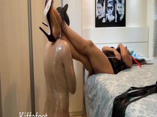 Kiffafeet in Goddess Kiffa Cuckold Slave licks alpha cum and lick purple high heels soles CUCKOLD LICK ALPHA CUM – FOOT WORSHIP – CUM LICK- HIGH HEELS – $23.99