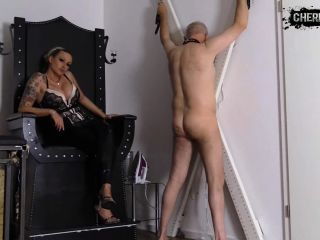 CHERIE NOIR – HARD AND UNCUT – Hot SM games! I love it when you endure pain
