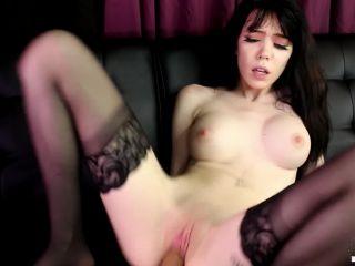 Leda Elizabeth - Goth Girl Rides Big Dick