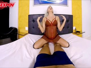 Barbara Perez Backdoor Blonde!