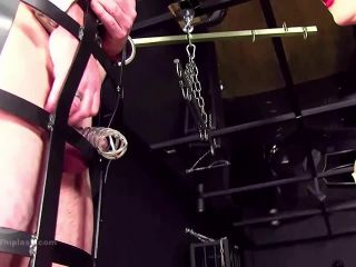 Whipping – Mistress Nikki Whiplash – Whipped for Breach of Chastity Contract WL1395