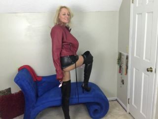 BuddahsPlayground - Mommy's Leather Jerk off Instructions