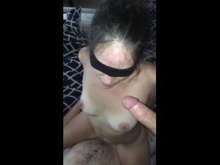 horny girlfriend sucking dick while fucking threesome homemade