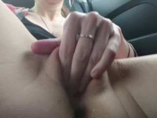 Real Daddys Angel - Masturbation In Real Taxi Cab Public Jerking Off I ...