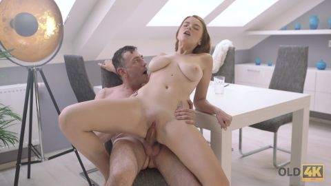 Marina Visconti - Old Wise Gentleman With A Young Beautiful Girl [FullHD 1080P]
