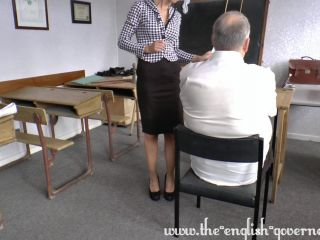 Thrashing the pupil for lines over due