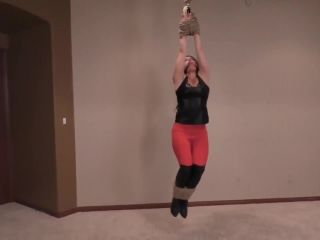 Michelle, Beautiful, Muscular & Hoisted