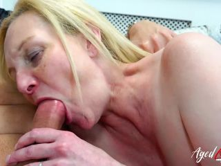 Agedlove presents Suzie in Blonde Suzie from Brittany fucks with a guy