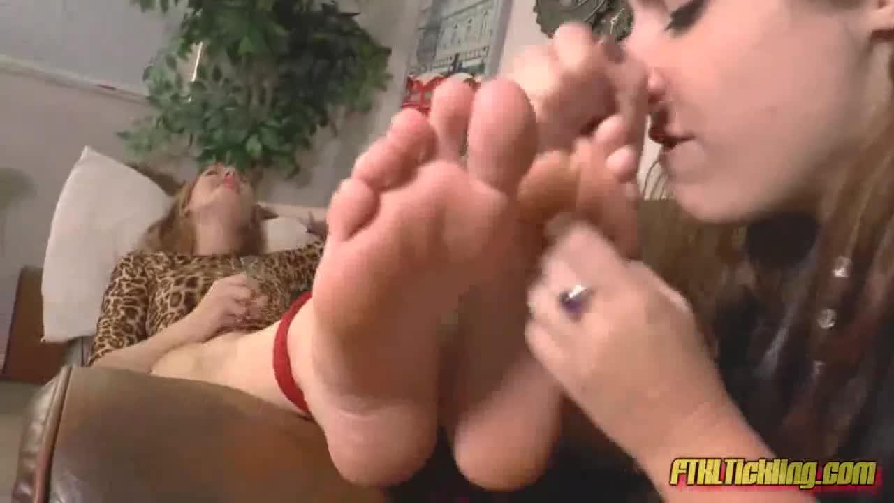 Feet Lesbian Tickle Licking