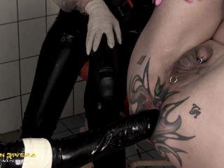 Baronessa di Rivera – Carmen Rivera – Dumb, dumber, Slave – Part 4 – XXXL Strap-On, Fist - female domination - femdom porn tits anal porn