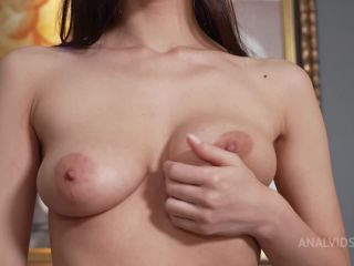 Skinny bitch Hot Cocoa gets a long dick in Anal! Nick's anal casting NRX144