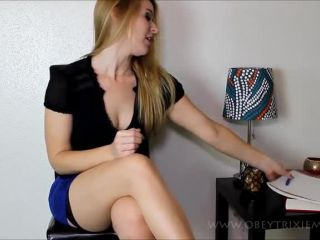 Online tube Trixie Miss - Sexy Therapist Fuckover - Findom