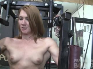 Charlotte Bound Gym Masturbation