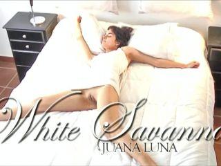 """Juana Luna - """"White Savannah""""  September 10, 2010"""