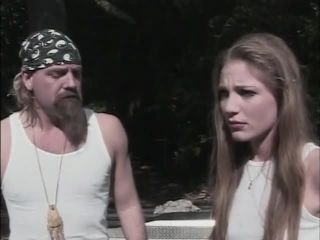 White Trash Whore #24, old and young anal on gangbang